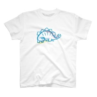 ステゴザウルス T-shirts