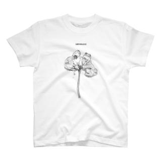 ウニョ×カエル T-shirts