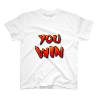 YOU WIN T-shirts