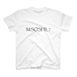 Miso7(文字) T-shirts