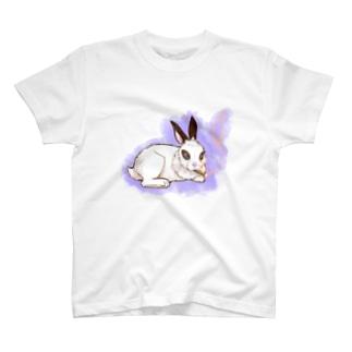 ダンディなうさぎさん T-shirts
