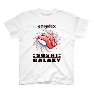emojidex™ :SUSHI:GALAXY T-shirts
