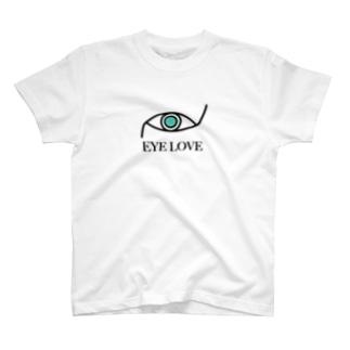 EYE LOVE T-shirts