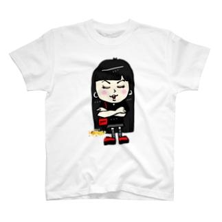 「古参。」ブラックハニー T-shirts