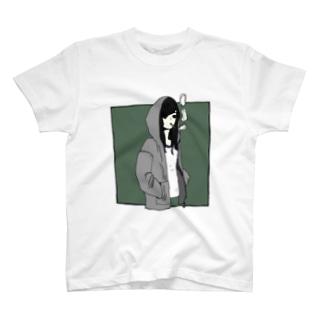 黒髪4 T-shirts