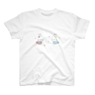 うさちゃんマーメイド T-shirts