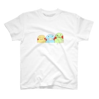 yuuオリジナルイラスト7 ポコちゃん三兄弟 T-shirts