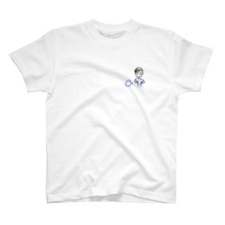 片田拓選手といせしまおくん T-shirts