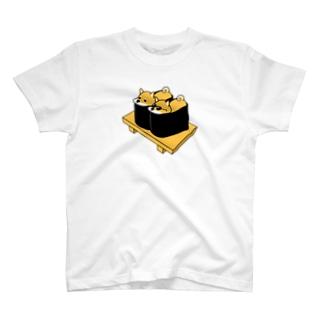 しばいぬの軍艦巻き サングラス T-shirts