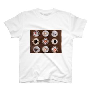 贅沢tea time T-shirts
