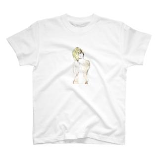 水彩スマホケース T-shirts
