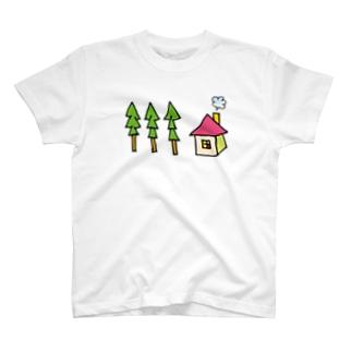 ZENZERON053(山の家) T-shirts