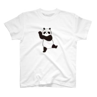 おどるパンダ T-shirts