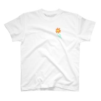 Cosmos fleure T-shirts