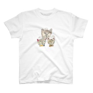 -犬猫猫- T-shirts
