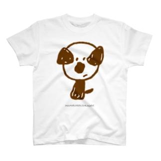 mamoruken(まもるけん!)brown T-shirts