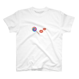 rei_nikoのキャンディ T-shirts