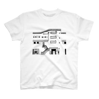 たいくつ堂のたいくつ堂【妄想不動産】03 T-shirts