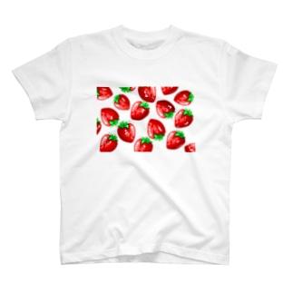 ゆるいおみせのいちごちゃん T-shirts