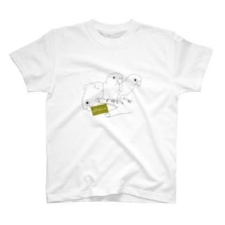 ウロコインコちゃんズ T-shirts