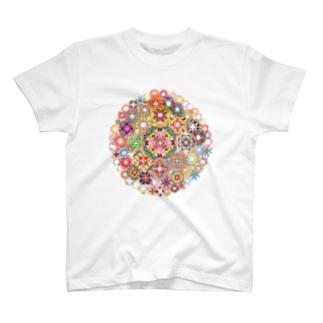 SAIHATE MANDALA T-shirts