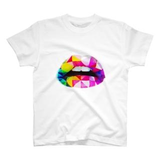 ポップなイメージ T-shirts