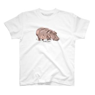 ばんやのカバ T-shirts