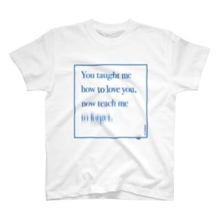 ポエティック・グラフィック_[涙滴]_メッセージ T-shirts