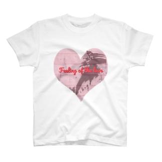 hitomi miyashitaのFeeling of the love T-shirts