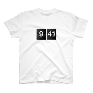 941 flip clock T-shirts