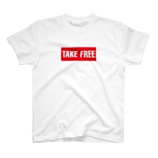 ご自由にお持ち帰りください T-shirts