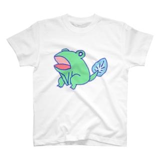 蒼樹のかえるさん T-shirts