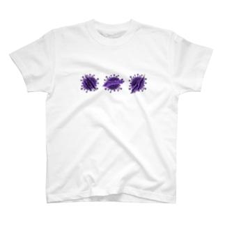 777k888のウイルス T-shirts