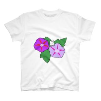 アジサイうさぎ T-shirts