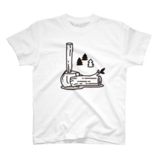 愛斧マサカリ T-shirts