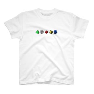 ダイスロール T-shirts