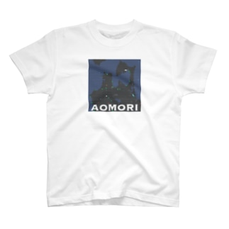 辻商会の青森 Tシャツ ドット T-shirts