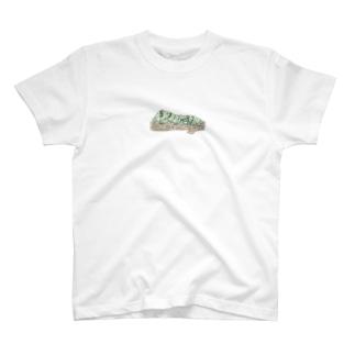 OGNdesignの虫 芋虫 いもむし NO.28 T-shirts