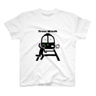 CJC 大麻品種Tシャツ/Train Wreck T-shirts