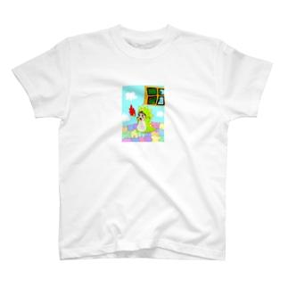 GAGAgのガキンチョ怪獣 T-shirts