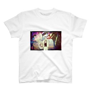 日本画しりぃず T-shirts