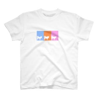 まつのしばいぬさん  10・11・12ミックス T-shirts