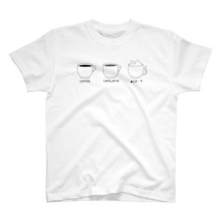 雨依の猫は液体 T-shirts