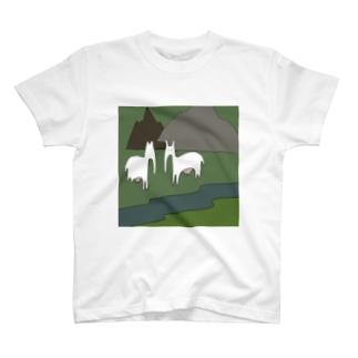 最強の草食動物の群れ T-shirts