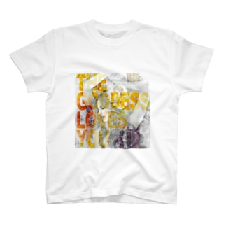 THE GODDESS LOVES YOU T-shirts