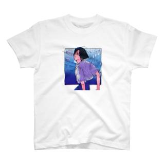 センターパートの彼 T-shirts
