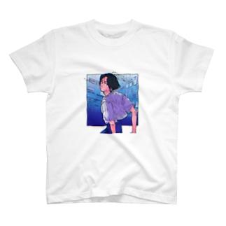 K1keiichiのセンターパートの彼 T-shirts