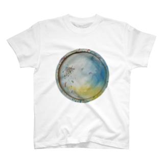 osos 表裏一体 実T  T-shirts