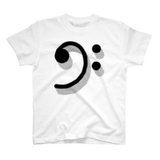 ヘ音記号 T-shirts