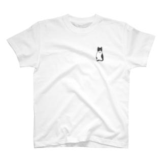 ハチワレ猫のフィガロ T-shirts